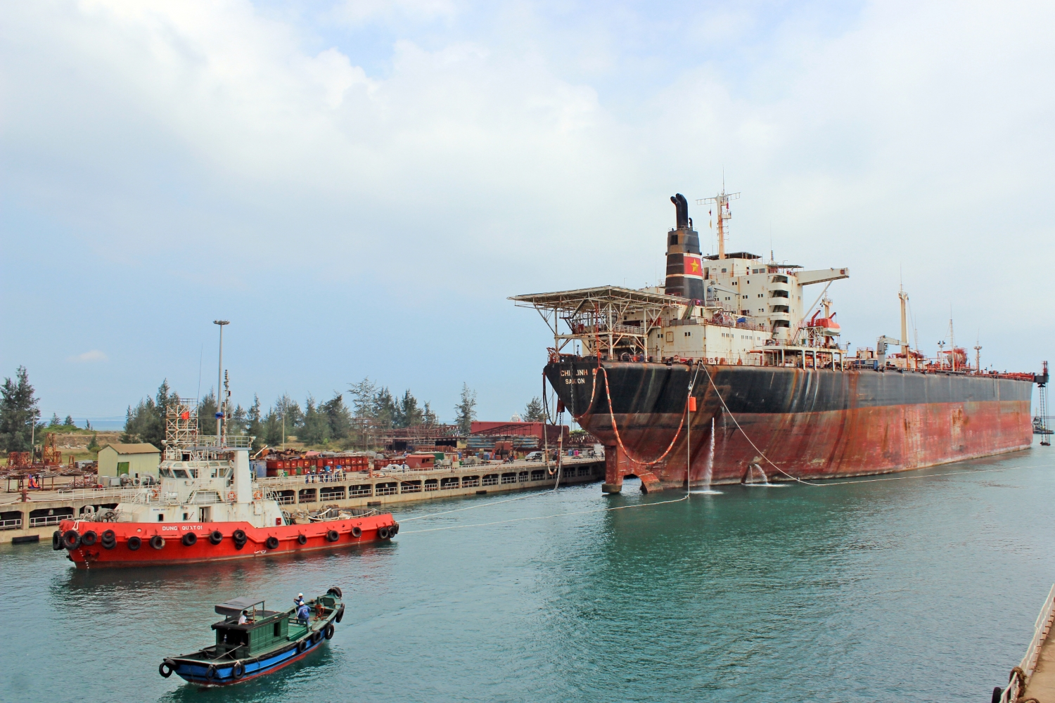 Vietnam's shipbuilding industry is now